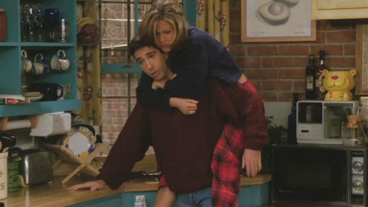 Друзья — s02e07 — The One Where Ross Finds Out