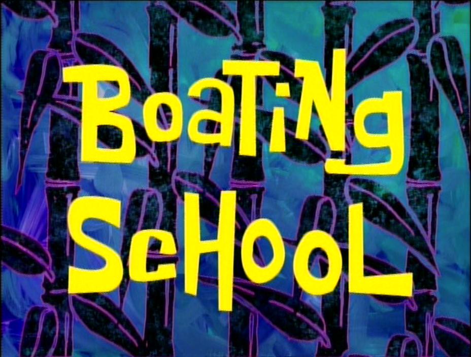 Губка Боб квадратные штаны — s01e09 — Boating School