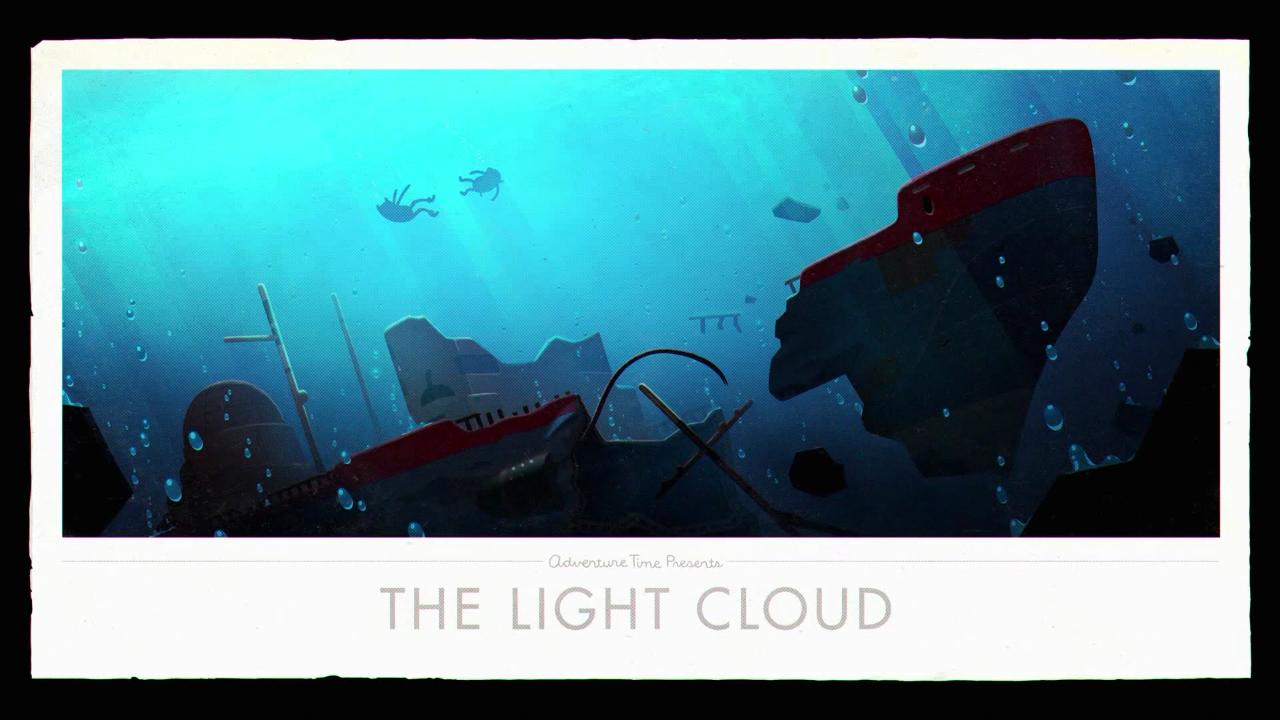 Время приключений — s08e14 — Islands Part 8: The Light Cloud