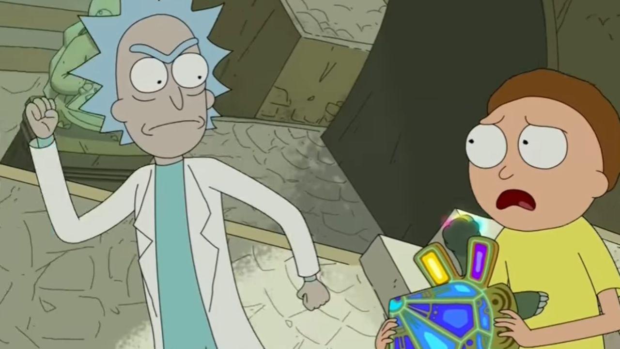 Рик и Морти — s03e08 — Morty's Mind Blowers