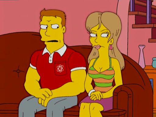 Симпсоны — s17e22 — Marge and Homer Turn a Couple Play