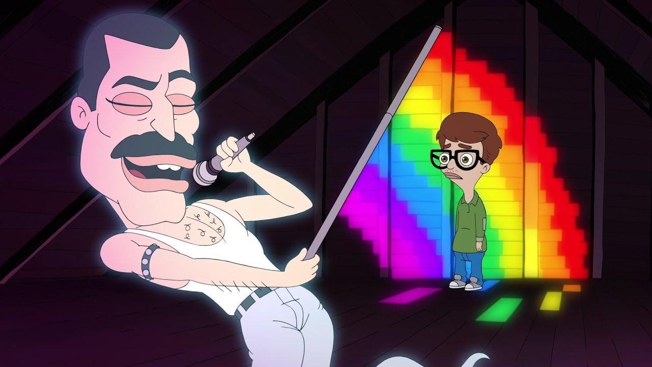Большой рот — s01e03 — Am I Gay?