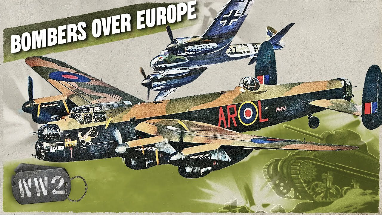 World War Two - Week by Week with Indy Neidell — s03 special-88 — The RAF and Luftwaffe Bombers of Western Europe