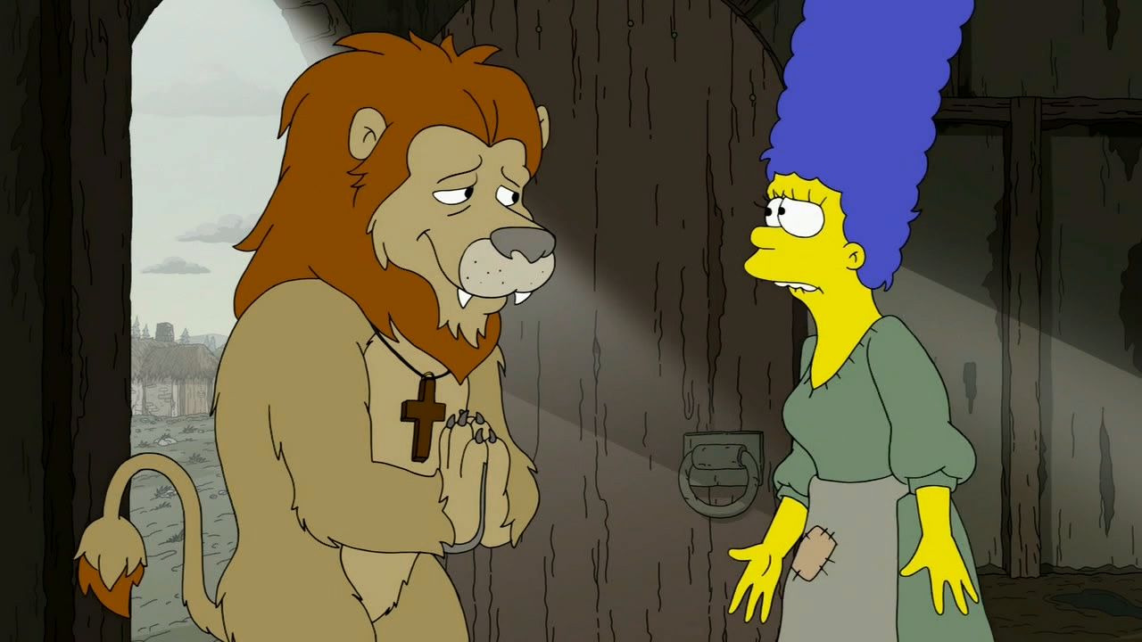 The Simpsons — s29e01 — The Serfsons