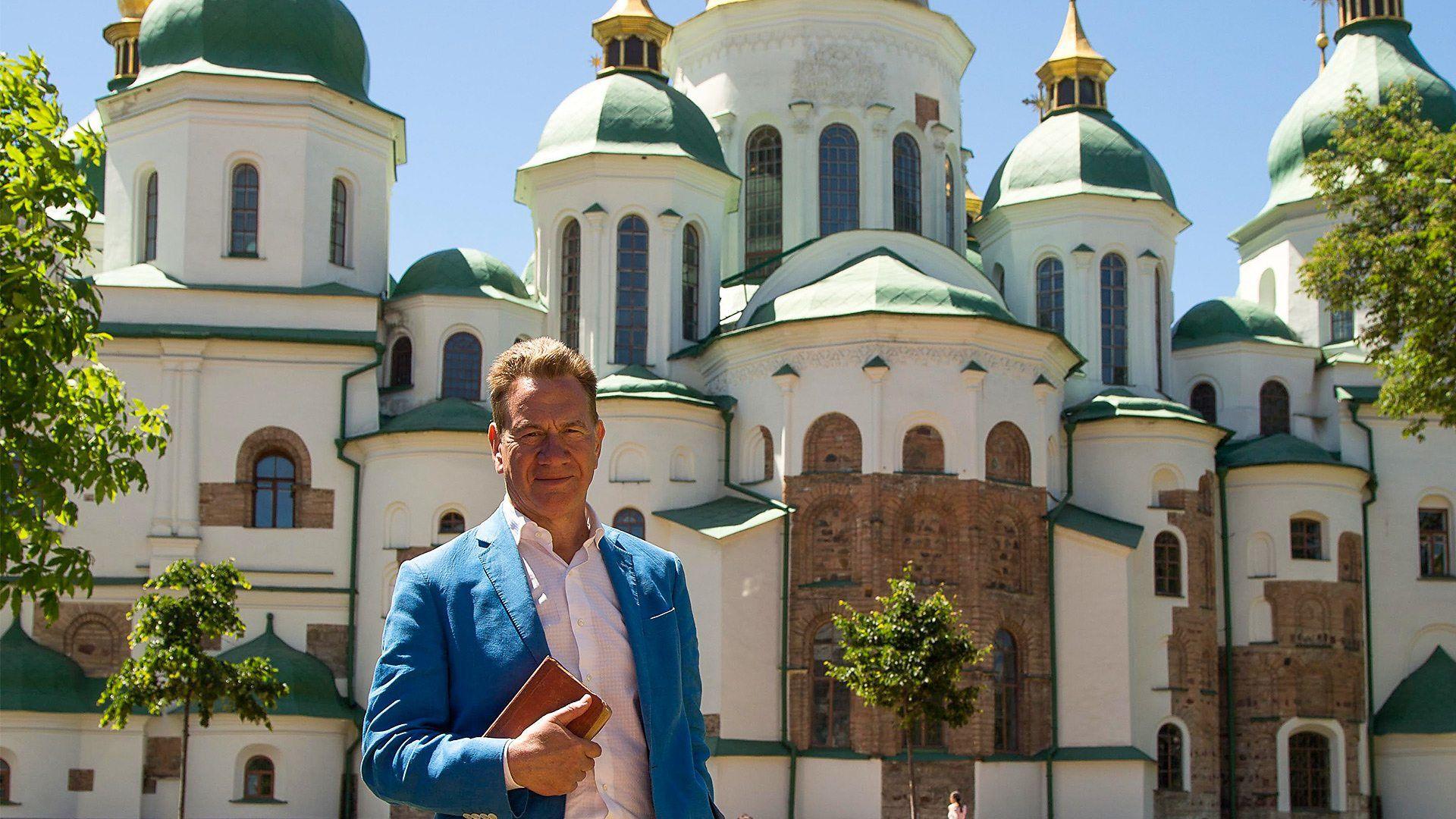 Большое железнодорожное путешествие по континенту — s06e01 — Kiev to Odessa