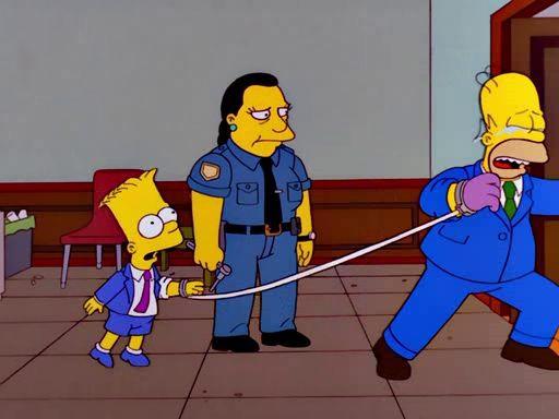 The Simpsons — s13e02 — The Parent Rap