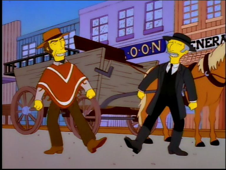 The Simpsons — s09e11 — All Singing, All Dancing