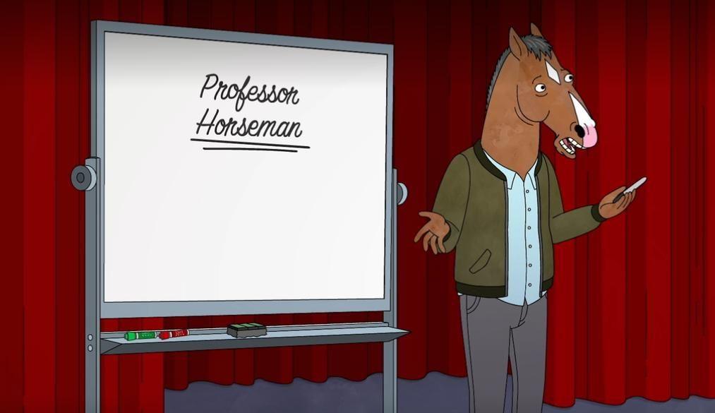 BoJack Horseman — s06e09 — Intermediate Scene Study w/ BoJack Horseman