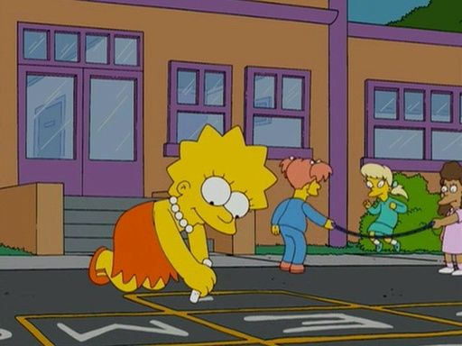 The Simpsons — s20e06 — Homer and Lisa Exchange Cross Words