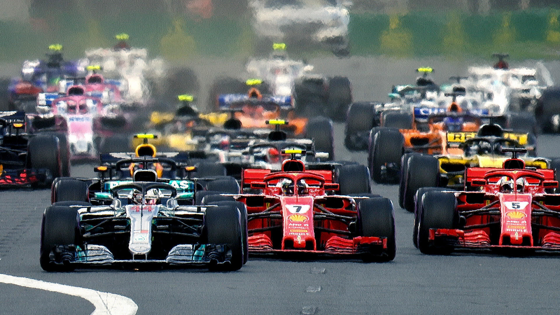 Formula 1: Drive to Survive — s01e01 — All to Play For
