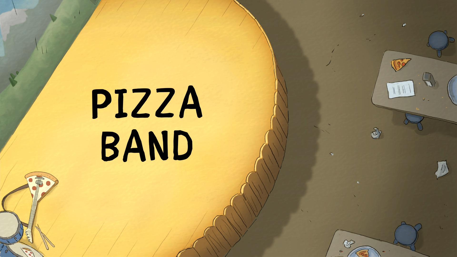 Мы обычные медведи — s04e28 — Pizza Band