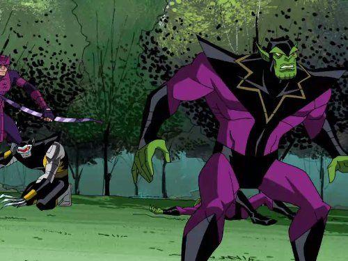 Мстители: Величайшие герои Земли — s02e12 — Secret Invasion