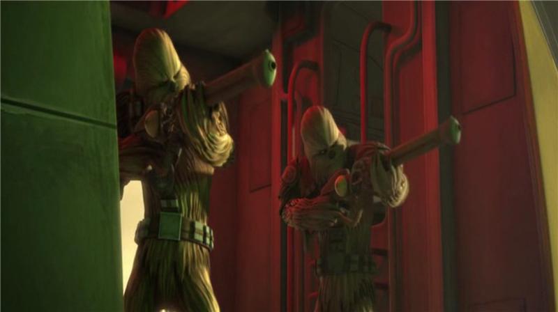 Звездные войны: Войны клонов — s03e22 — Wookiee Hunt