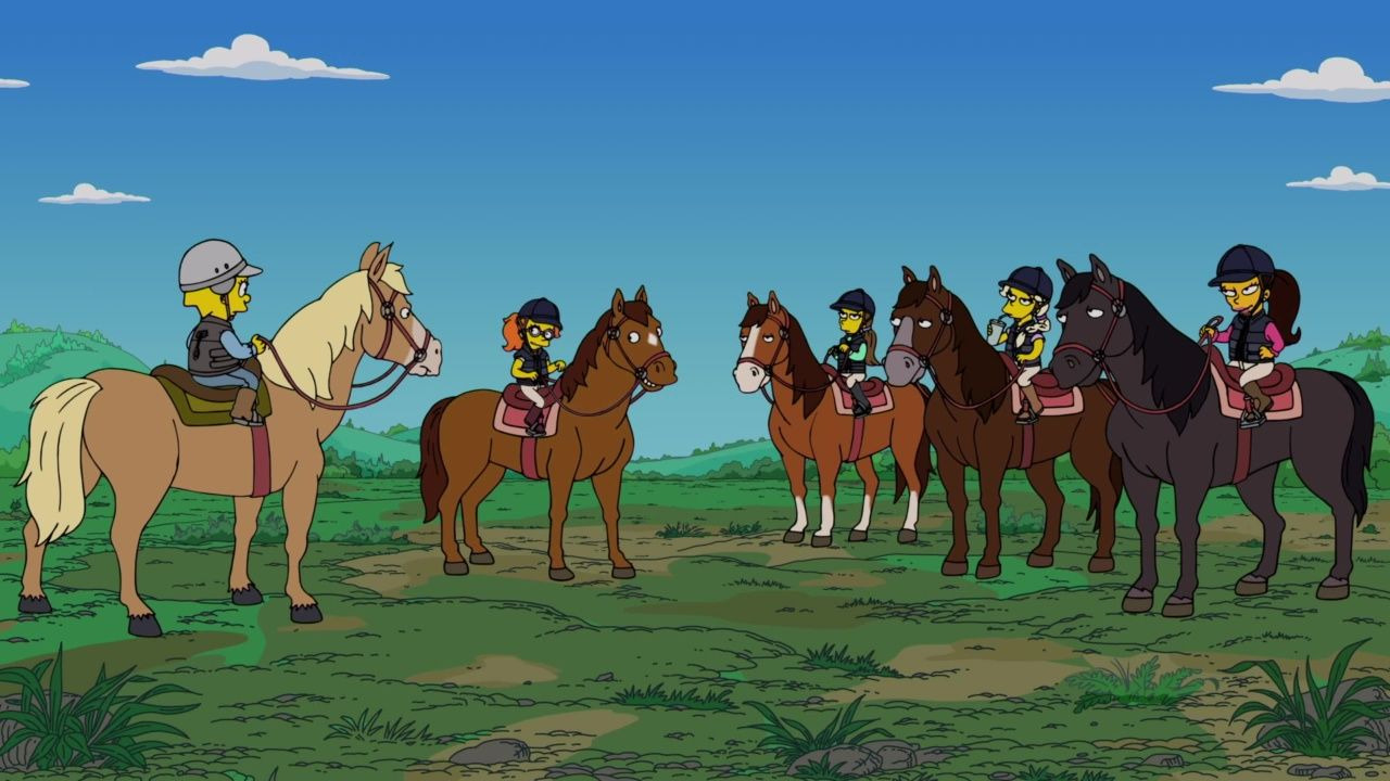 The Simpsons — s31e21 — The Hateful Eight-Year-Olds