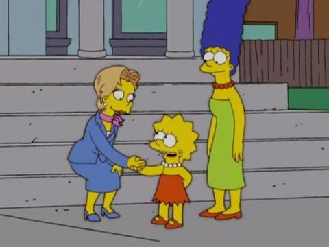 The Simpsons — s16e04 — She Used to Be My Girl