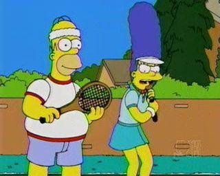 The Simpsons — s12e12 — Tennis the Menace