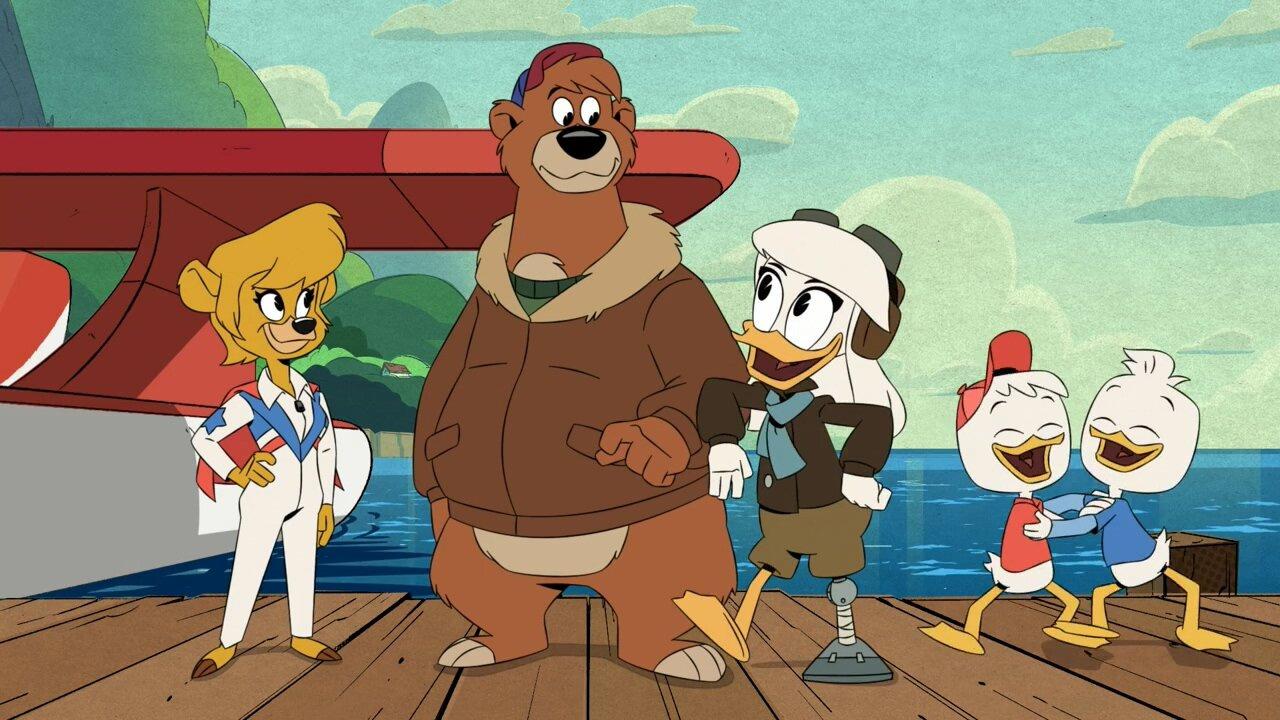 DuckTales — s03e20 — The Lost Cargo of Kit Cloudkicker!