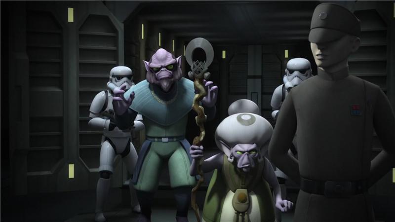 Star Wars Rebels — s02e14 — Legends of the Lasat