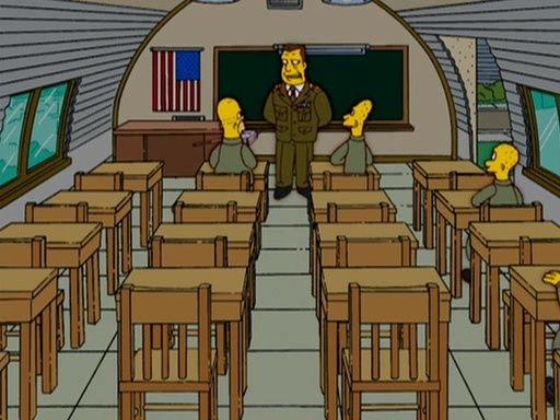 The Simpsons — s18e05 — GI (Annoyed Grunt)