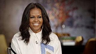 Вечернее шоу со Стивеном Колбером — s2021e65 — Michelle Obama, Seth Rogen
