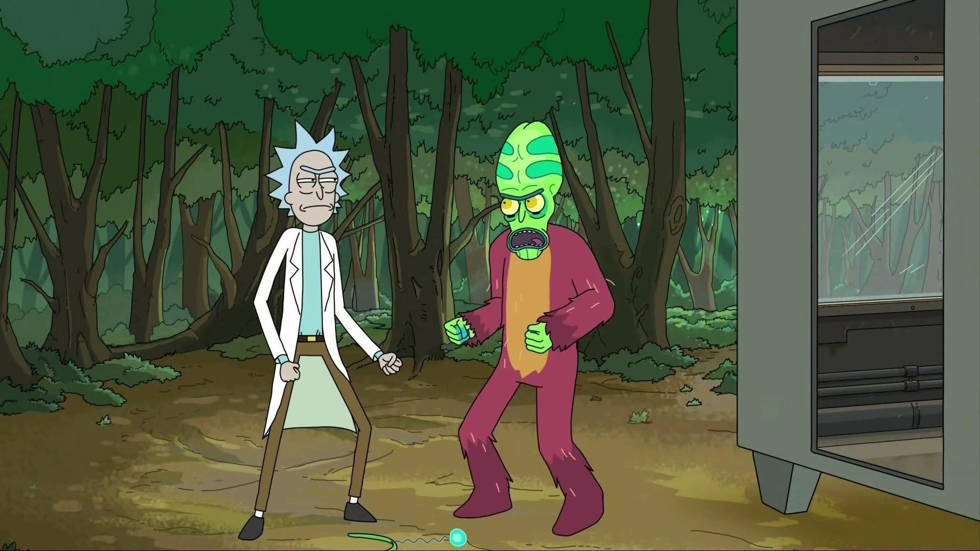 Рик и Морти — s02e06 — The Ricks Must Be Crazy
