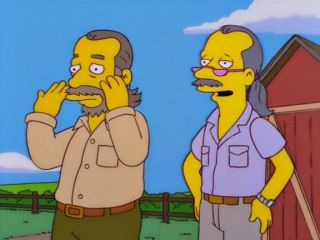 The Simpsons — s10e06 — D'Oh-in' in the Wind