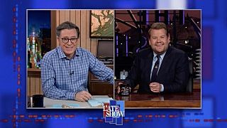 The Late Show with Stephen Colbert — s2020e159 — James Corden, Fleet Foxes