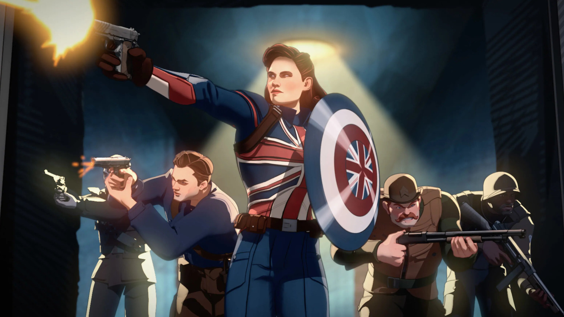 What If...? — s01e01 — What If… Captain Carter Were The First Avenger?