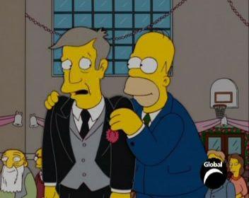 The Simpsons — s15e17 — My Big Fat Geek Wedding