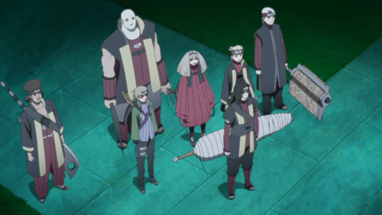 Боруто: Новое поколение Наруто — s01e29 — The New Seven Ninja Swordsmen!!