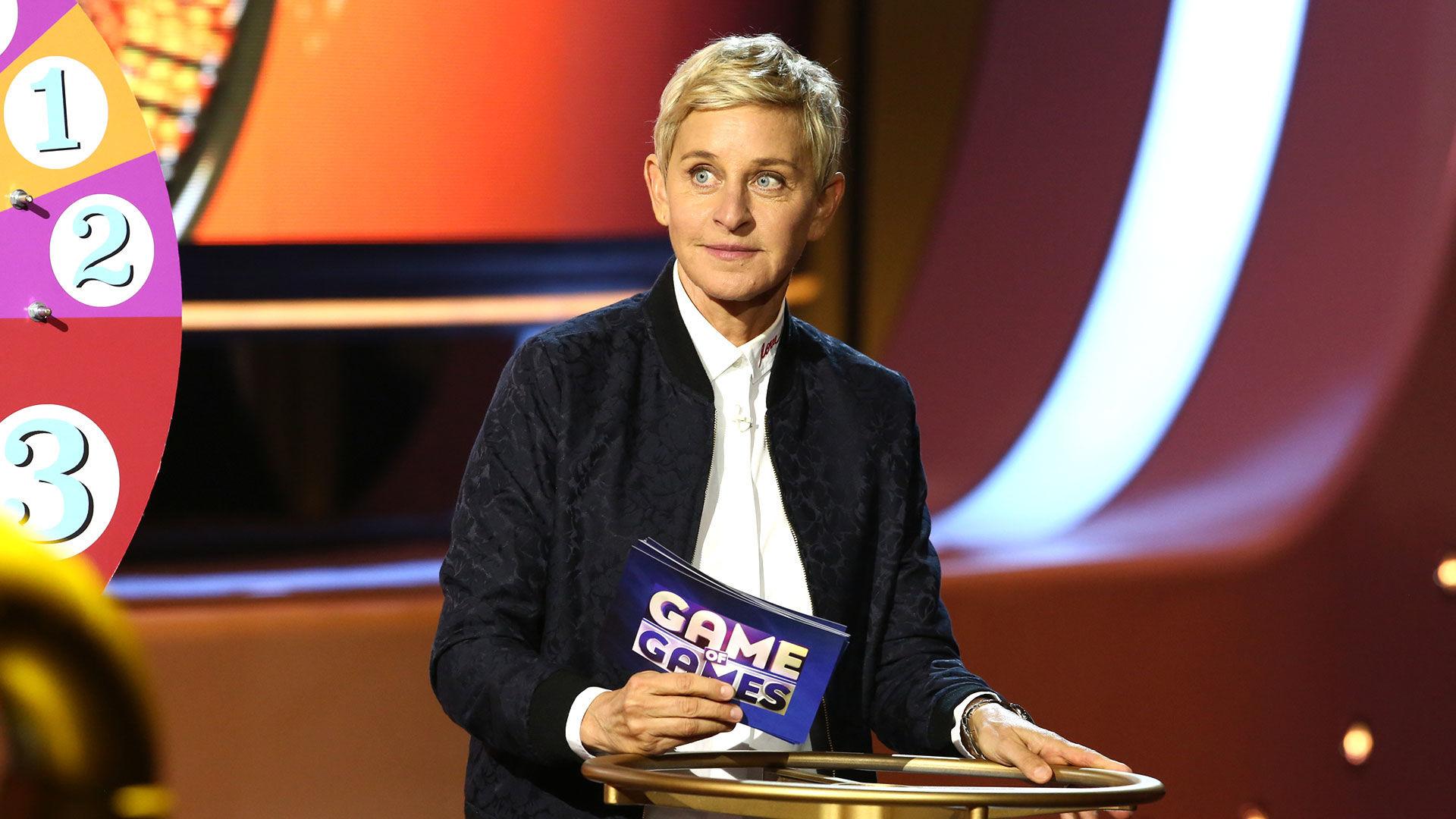 Ellen's Game of Games — s01e01 — Ellen's Game of Games