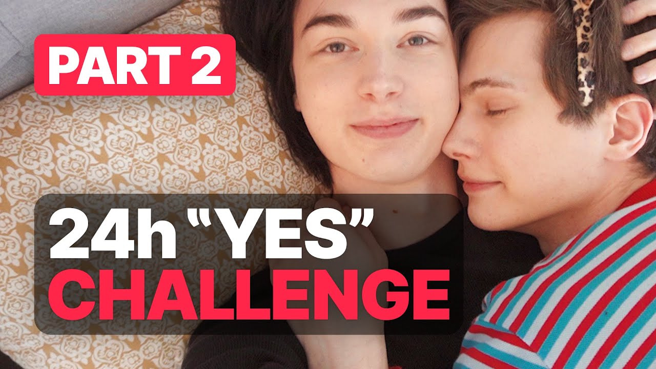 The Wineholics — s07e15 — 24 Hours Yes To My Boyfriend! —Gay Couple Challenge (Part 2)