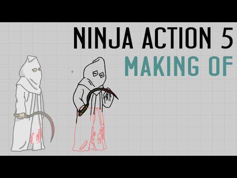 Animaction decks  — s04e04 — Ninja Action 5 Making of