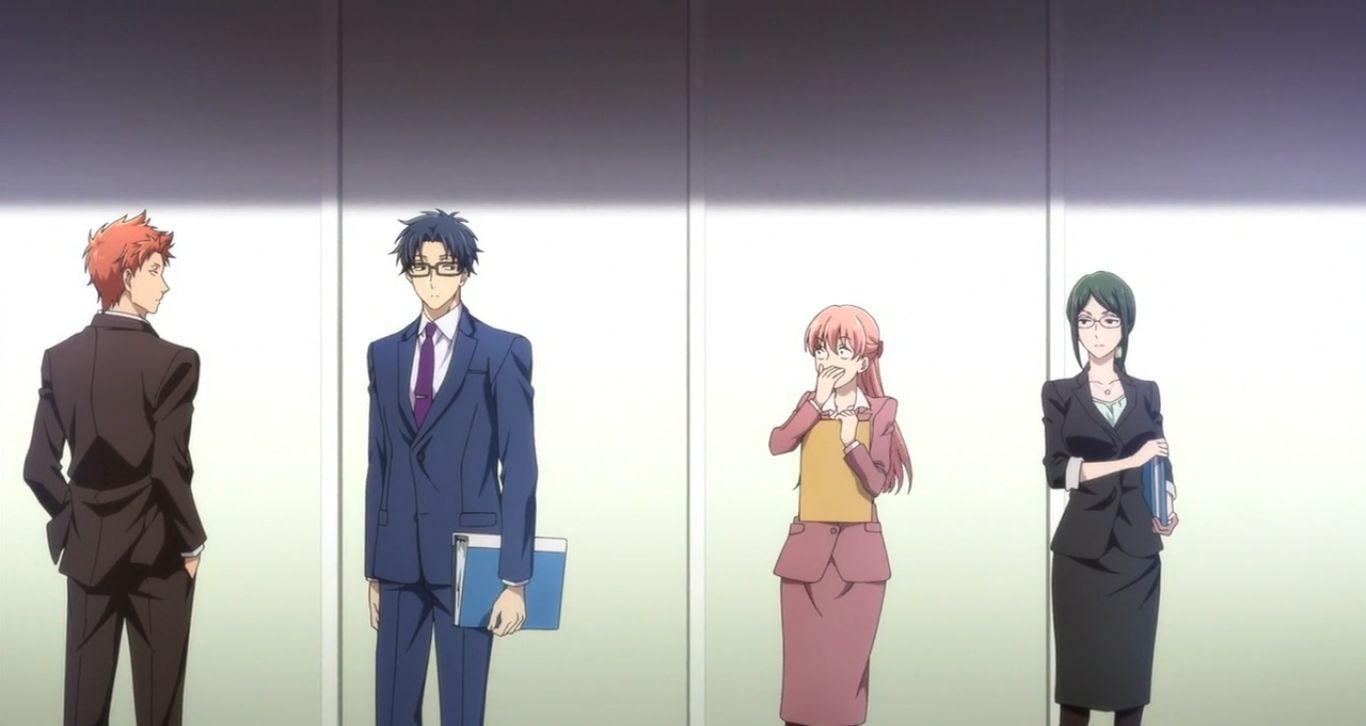 Wotaku ni Koi wa Muzukashii — s01e01 — Narumi and Hirotaka Meet Again, and...