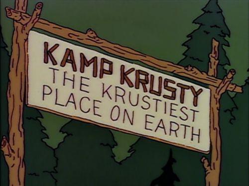 The Simpsons — s04e01 — Kamp Krusty