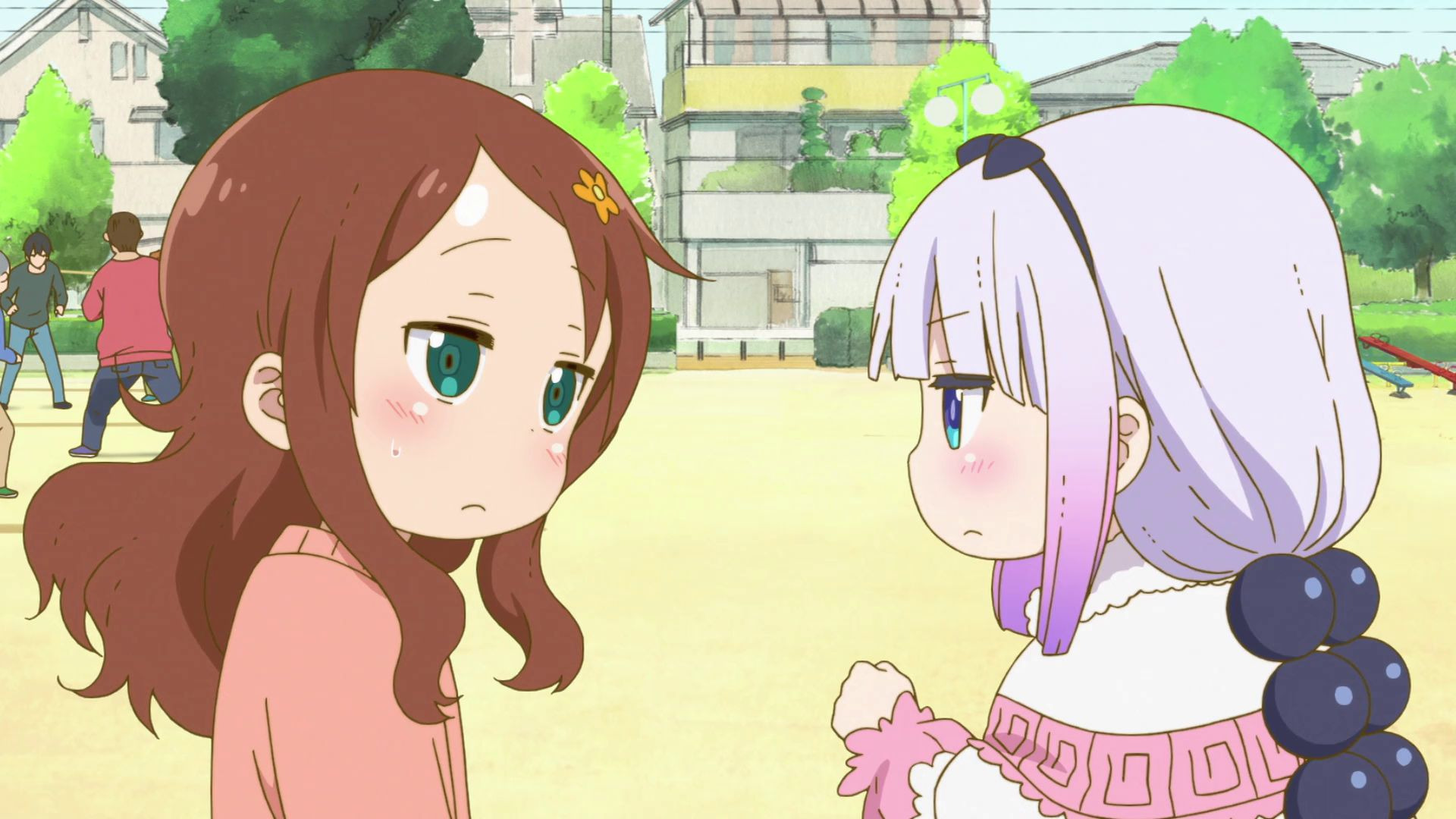 Дракон-горничная госпожи Кобаяши — s01e04 — Kanna Goes to School! (Not That She Needs To)