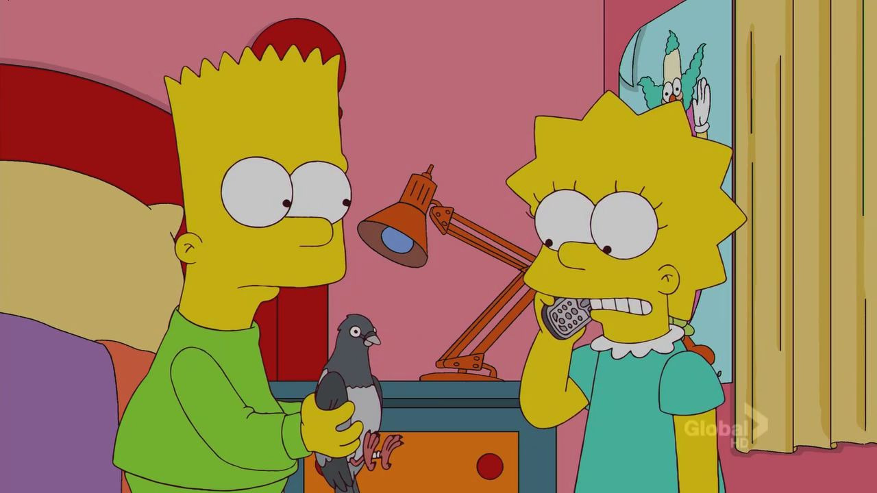 The Simpsons — s22e07 — How Munched is That Birdie in the Window
