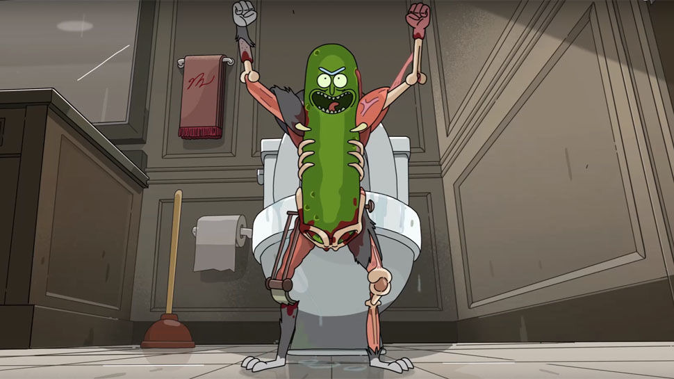 Рик и Морти — s03e03 — Pickle Rick