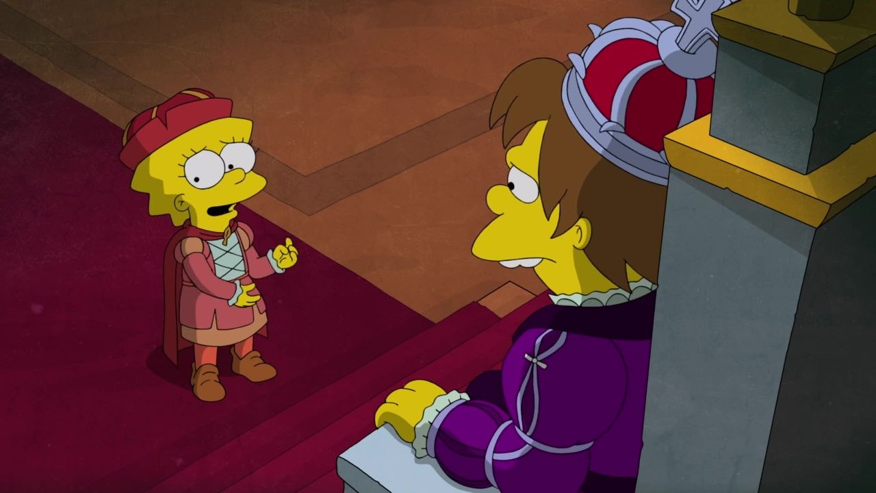 The Simpsons — s32e03 — Now Museum, Now You Don't