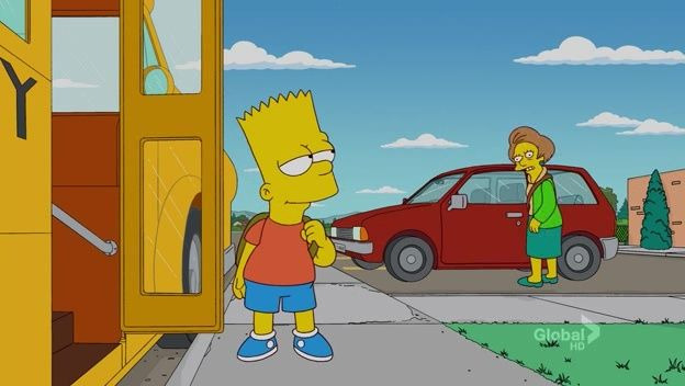 The Simpsons — s22e22 — The Ned-Liest Catch