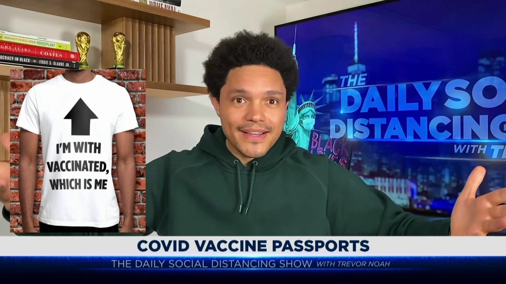 The Daily Show with Trevor Noah — s2021e36 — Garrett Bradley, Morgan Freeman