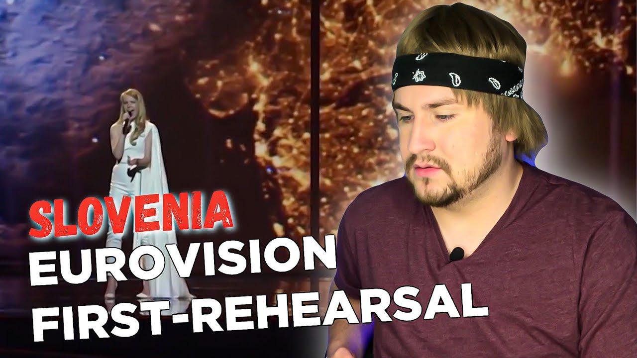 RUSSELL BLOG — s05e56 — Ana Soklič— Amen— First Rehearsal (Slovenia Реакция Евровидение 2021)