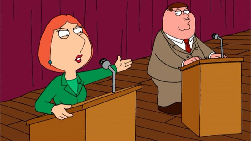 Family Guy — s02e10 — Running Mates