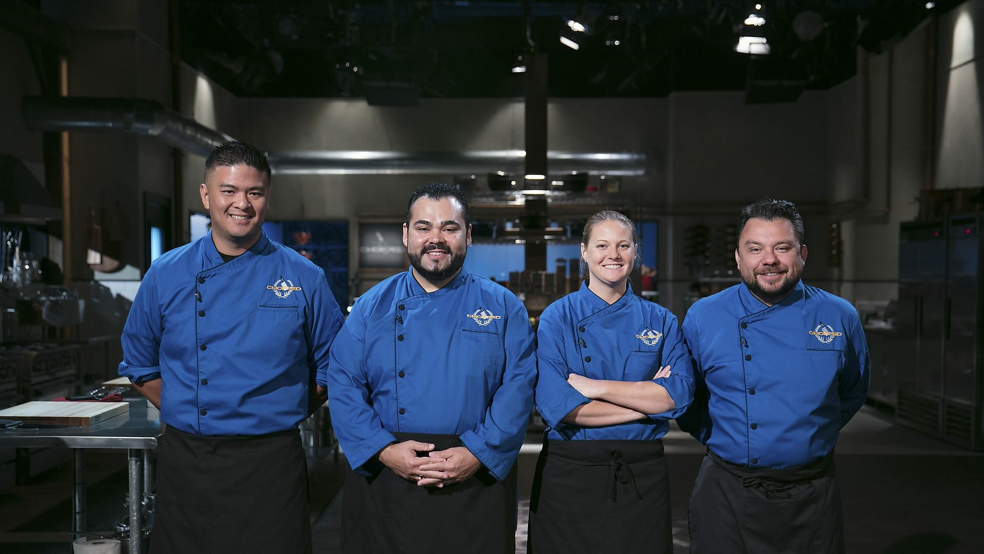 Chopped: Gold Medal Games — s01e01 — Gold Medal Games: Frying