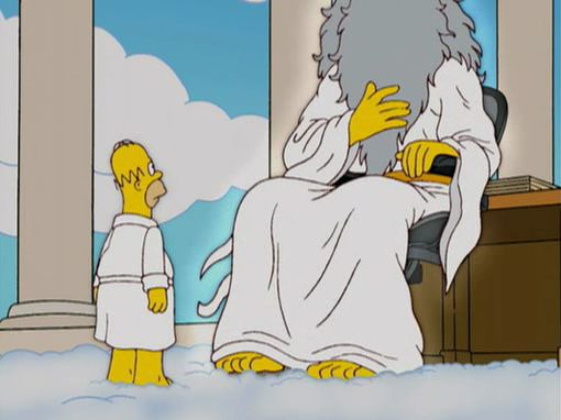 The Simpsons — s16e19 — Thank God It's Doomsday