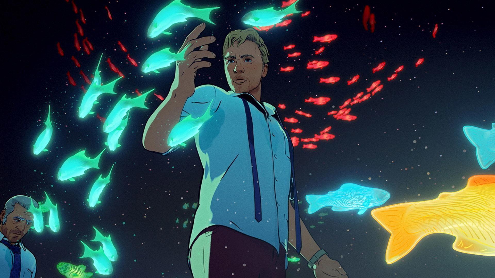 Любовь, смерть и роботы — s01e12 — Fish Night