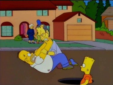The Simpsons — s07e13 — Two Bad Neighbors