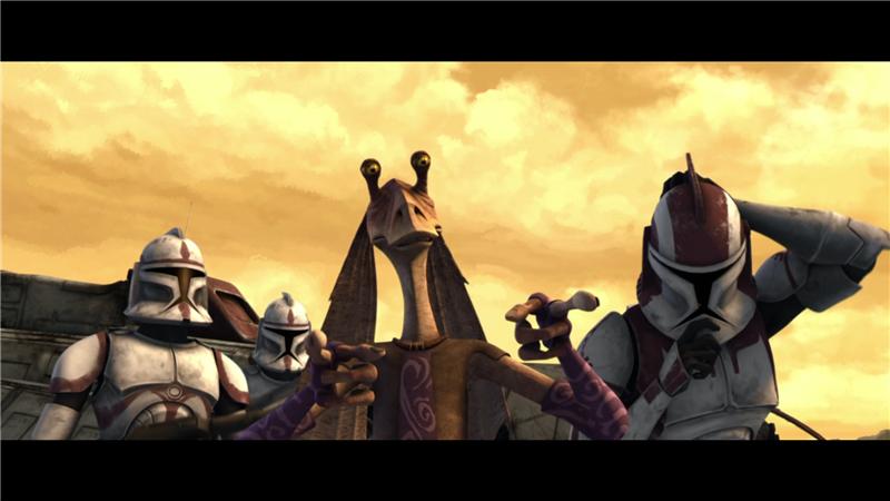 Star Wars: The Clone Wars — s01e12 — The Gungan General
