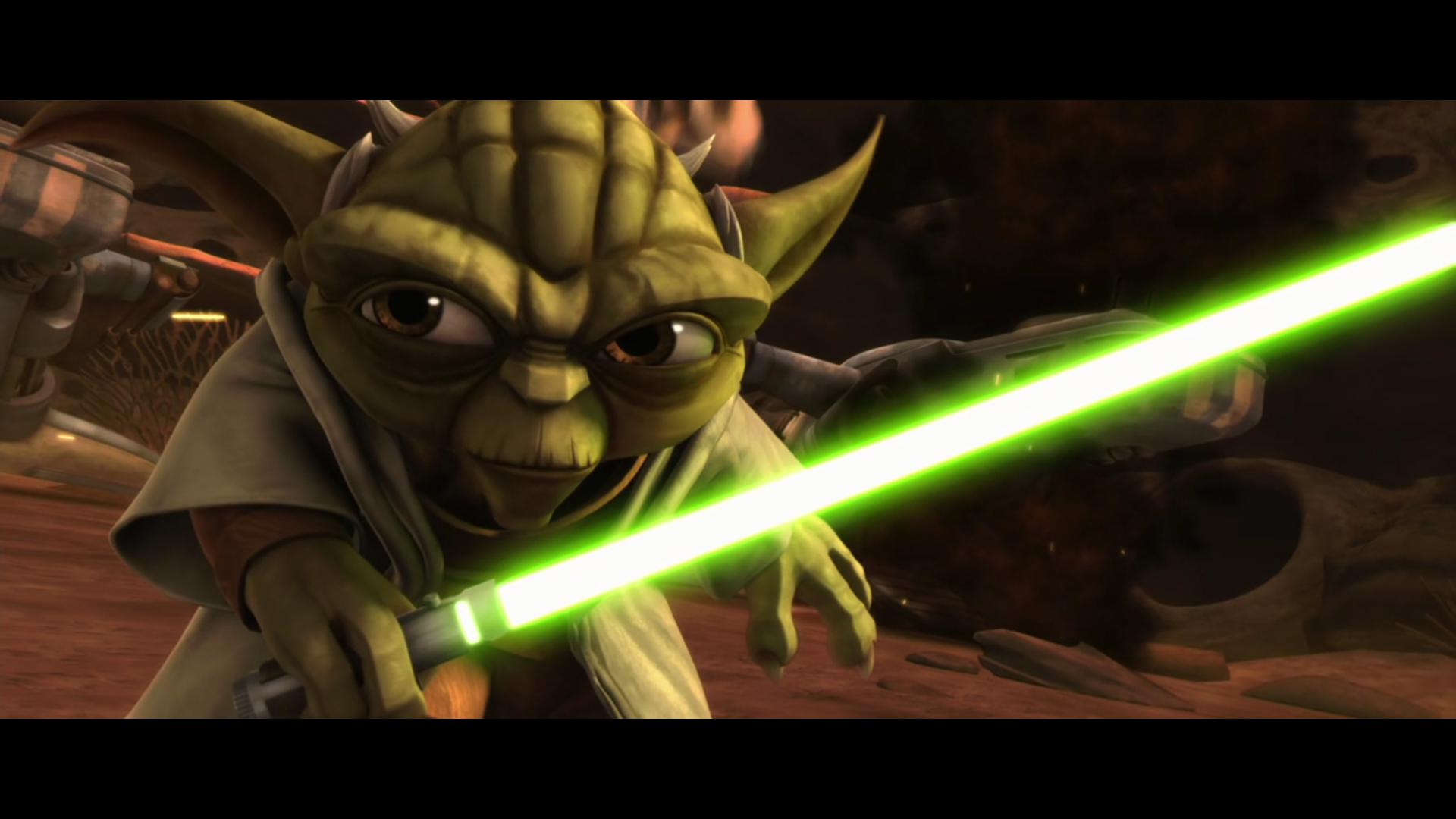 Star Wars: The Clone Wars — s01e01 — Ambush