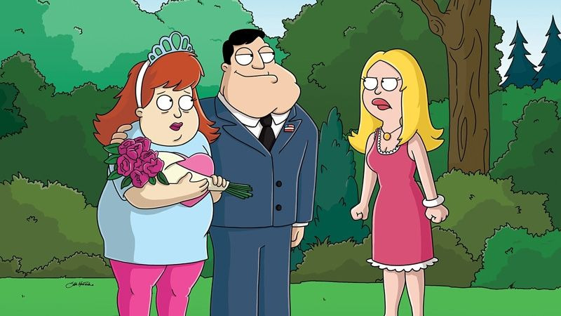 American Dad! — s01e19 — It's Good to Be Queen